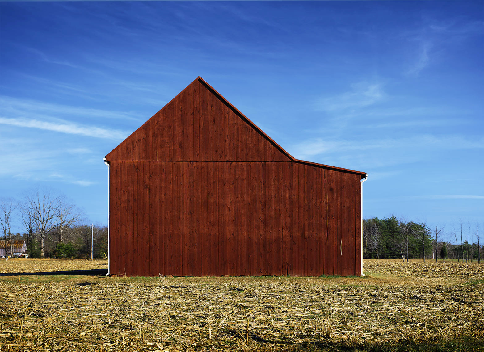 Red Barn is a fine art image