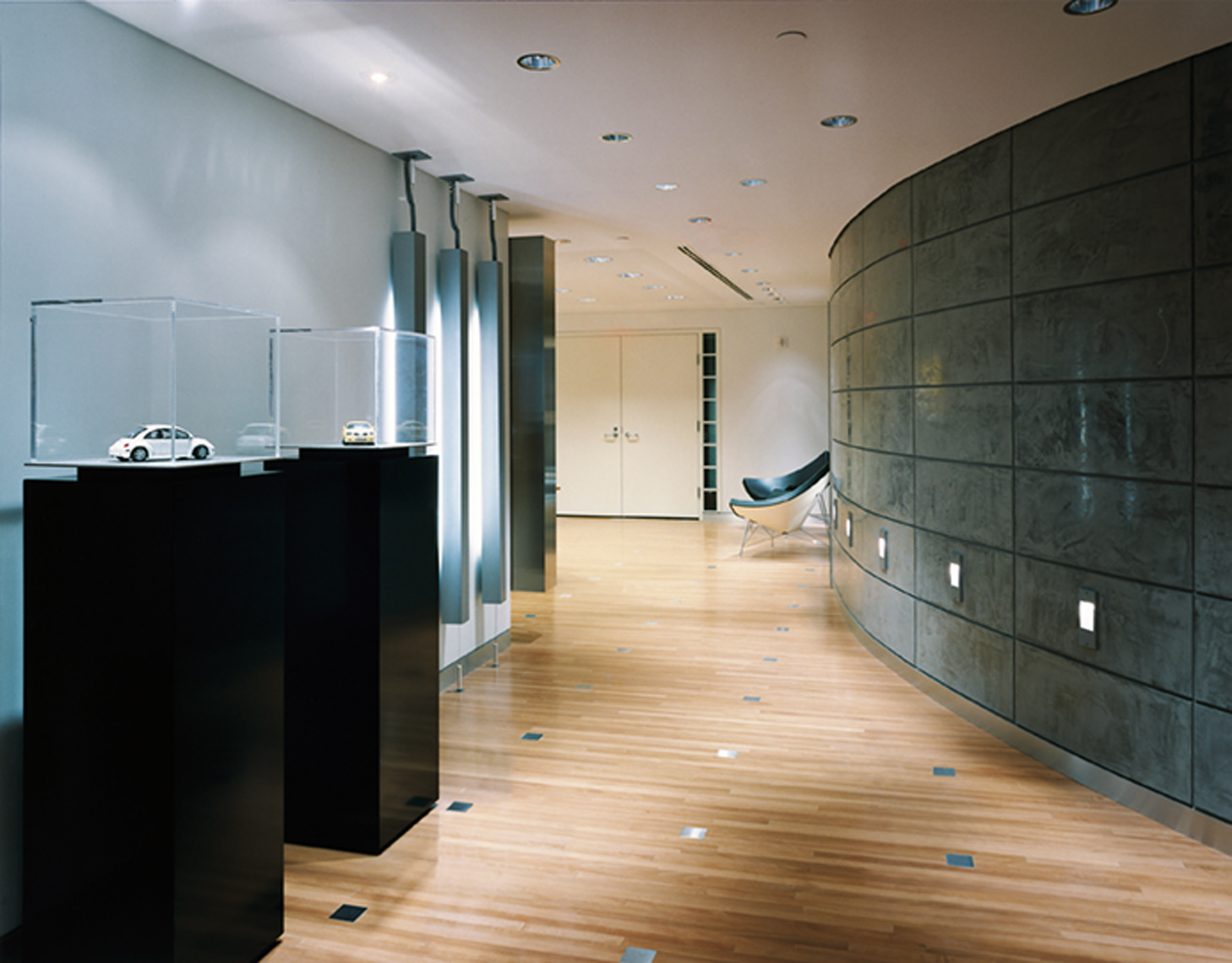 architectural photograph of an office interior by Dan Poyourow