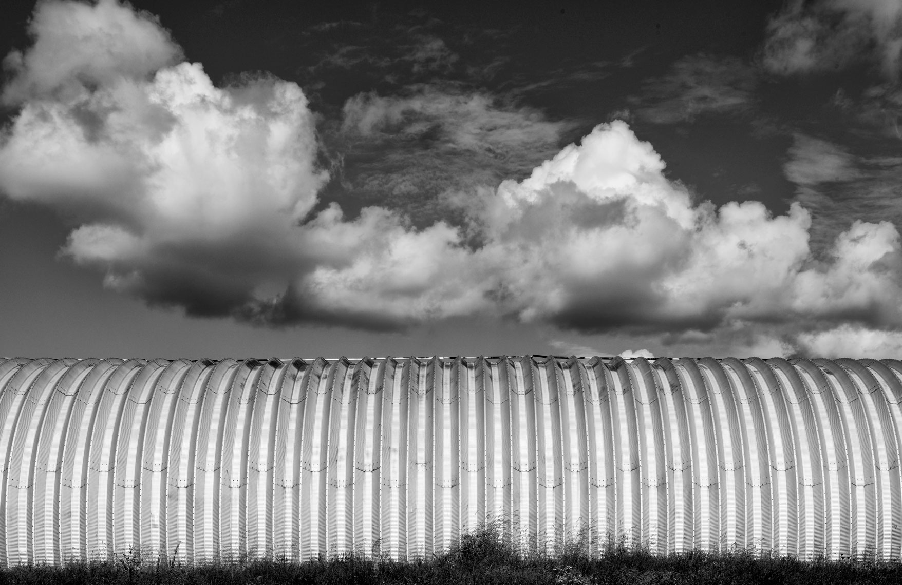 fine art photograph of Quonset Hut #4