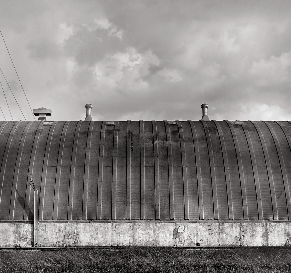 fine art photograph of quonset hut #1