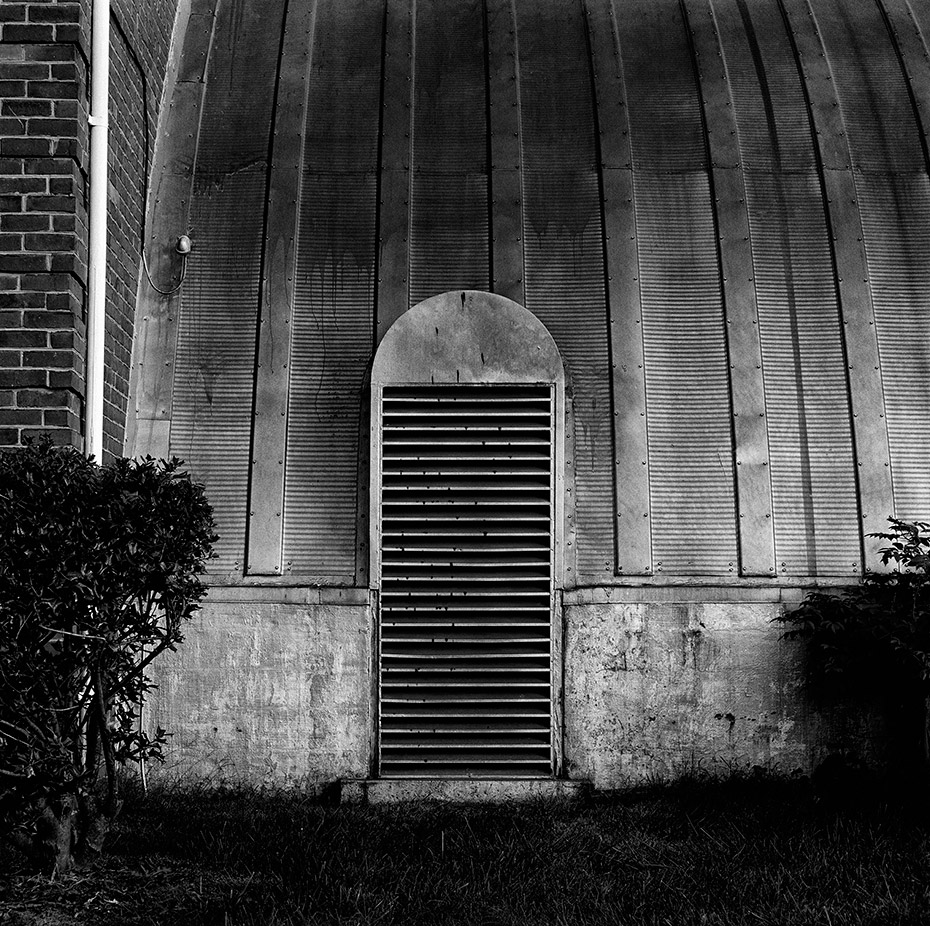 fine art photograph of quonset hut air vent