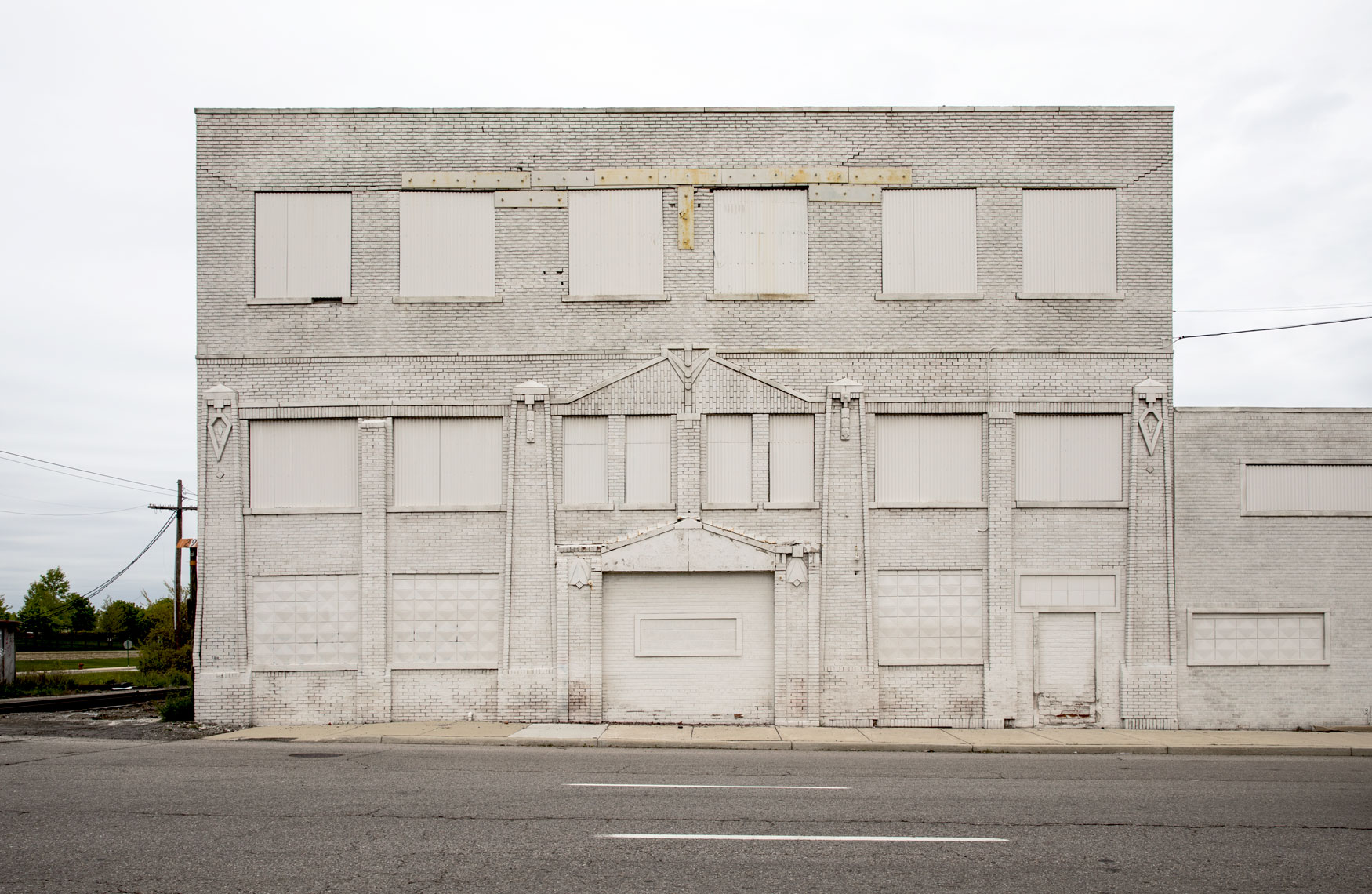 fine art photograph of White Building